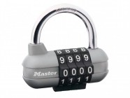 Master Lock Die Cast 64mm Padlock - 4 Digit