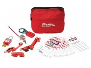 Master Lock 7 Piece Electrical Lockout Pouch Kit