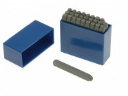 Priory 181- 2.5mm Set of Letter Punches 3/32in