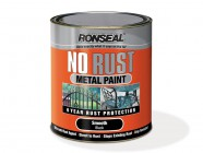Ronseal No Rust Metal Paint Hammer Black 2.5 Litre