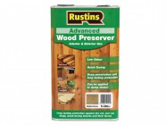 Rustins Advanced Wood Preserver Mid Brown 5 Litre