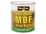 Rustins Quick Drying MDF Sealer Clear 250ml