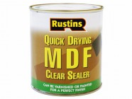 Rustins Quick Drying MDF Sealer Clear 1 Litre