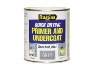 Rustins Quick Dry Primer & Undercoat Grey 250ml