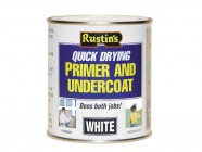 Rustins Quick Dry Primer & Undercoat White 500ml