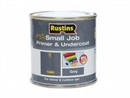 Rustins Small Job Primer / Undercoat Grey 250ml