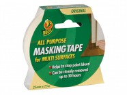 Shurtape Duck® Tape All Purpose Masking Tape 25mm x 25m