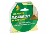 Shurtape Duck® Tape All Purpose Masking Tape 25mm x 50m