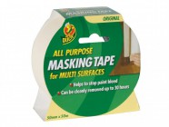 Shurtape Duck® Tape All Purpose Masking Tape 50mm x 50m