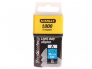 Stanley Tools TRA2 Light-Duty Staple 10mm TRA206T Pack 1000