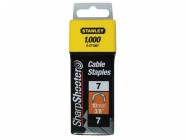 Stanley Tools Cable Staples Type 7 CT100 11mm CT107T Pack 1000