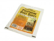 Stanley Tools Polythene Dust Sheet 3.6 x 2.7m (12 x 9ft)