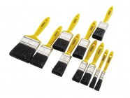 Stanley Tools Hobby Paint Brush Set of 10 12mm-76mm