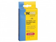 Tacwise 91 Narrow Crown Divergent Point Staples 18mm - Electric Tackers Pack 1000