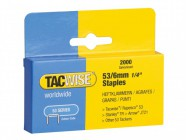 Tacwise 53 Light Duty Staples 6mm (Type JT21, A) Pack 2000