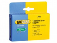 Tacwise 140 Heavy-Duty Staples 8mm (Type T50, G) Pack 2000