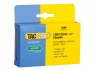 Tacwise 140 Heavy-Duty Staples 12mm (Type T50, G) Pack 2000