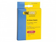 Tacwise 91 Narrow Crown Divergent Point Staples 35mm - Electric Tackers Pack 1000