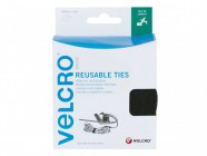 VELCRO® Brand Self Gripping VELCRO® Brand Ties 30mm x 5m Black