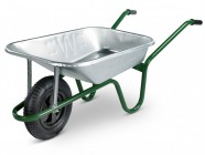 Walsall 85L Heavy-Duty Galvanised Builders Barrow Min Quantity of 15 Only