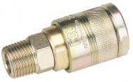 "1/2"" BSP MALE THREAD AIR LINE COUPLING"