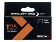 Arrow T25 Staples 10mm (3/8in) Box 5000