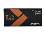 Arrow T25 Staples 14mm (9/16in) Box 5000