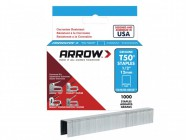 Arrow T50 Staples Stainless Steel 508SS 12mm (1/2in) Box 1000