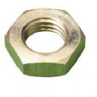 BRASS LOCK NUTS 1/2 INCH  UNF